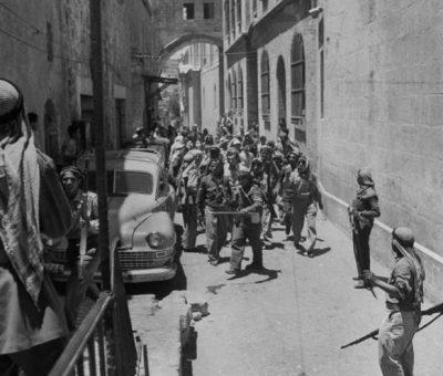 prisonniers juifs à Jérusalem